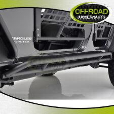 07-18 Jeep Wrangler JK Tubular 4 Door Rocker Sliders Side Armor Rocker Guards