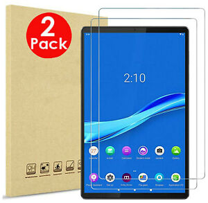 """2X Tempered Glass Screen Protector For Lenovo Tab M10 Plus TB-X606F 10.3"""""""