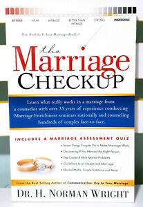 The Marriage Check-up! Book by Dr. H. Norman Wright!
