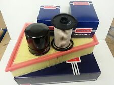 Ford Galaxy MK3 1.8 TDCi Oil Air Fuel Filter Service Kit Borg & Beck 2006-2011