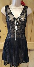 20s 50s vintage style lacey flapper gatsby charleston party cocktail dress 10