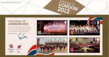 GB 2012 Ricordi di Londra presentazione Pack 476 Nuovo di zecca stamp set SG MS 3406 #476