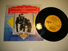 DRIFTERS - KISSIN' IN THE BACK ROW / YOU'RE MORE THAN A NUMBER..PICTURE SLEEVE