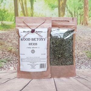 Wood Betony Herb (Stachys officinalis) - Health Embassy 100% Natural