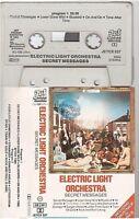 ELECTRIC LIGHT ORCHESTRA ELO cassette K7 tape SECRET MESSAGES