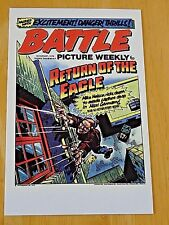 'BATTLE' BRITISH WAR COMIC POSTCARD ~ 'RETURN OF THE EAGLE'  23rd AUG 1975 ~ NEW