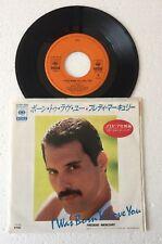 "RARE 7"" 45 GIRI 1985 JAPAN FREDDIE MERCURY I WAS BORN TO LOVE YOU (QUEEN)"
