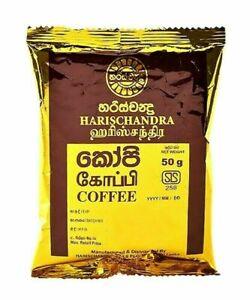 PURE CEYLON HARISCHANDRA BLACK COFFE 50g NATURAL PRODUCT from sri lanka free shi