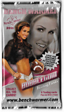 Benchwarmer 2011 4 Unsealed Brand New Pack 6 Cards Per Pack