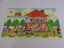 Animal Crossing Happy Home Designer On Double Sided Promo Poster Zelda Mario