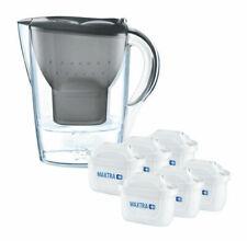 Brita Marella Water Filter Jug Pack with 6 Filters - Graphite (076719)
