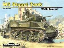 M5 Stuart Walk Around, British WW2 tank (Squadron Signal 5719)