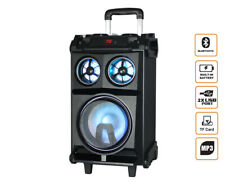 "Bluetooth 8"" PA Rechargable portable Speaker Karaoke System Portable Dj Pa Us..."