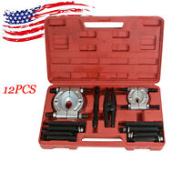 *US Delivery* 12PC bearing Splitter Gear Puller Fly Wheel Separator Set Tool Kit