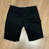 Dockers Womens Shorts Sz 6 Black Casual Bermuda Walking Summer Long  Y52