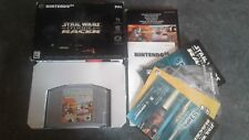 Boxed Star Wars Racer Episode 1 Inc Postcards & Manual for the Nintendo 64 N64