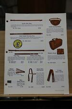 Brochure Buddy Schoellkopf Products Gun Cases Form 6530 Vintage Dallas Texas Tx