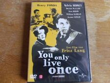 Fritz Lang: You only live Once (Gehetzt)- Henry fonda, Sylvia Sidney