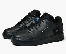 Nike Air Force 1 Type Black Trainers UK 12 **Brand New In Box**