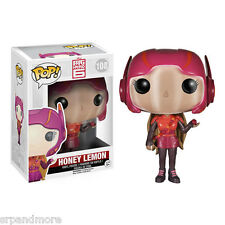 Big Hero 6 Marvel Honey Lemon Pop! Vinyl Figure-NIP