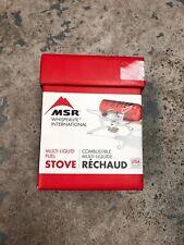 MSR Whisperlite Universal Backpacking Stove - Multi-Liquid Fuel - NEW