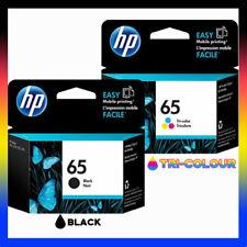 HP Genuine HP65 BLACK+COLOUR Ink Set for Deskjet 3720/3721/3723 N9K02AA+N9K01AA