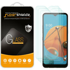 [3-Pack] Supershieldz Tempered Glass Screen Protector for LG K51