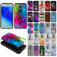 For Samsung Galaxy J3 J337/Star/Express Prime 3 2018 Fusion Hybrid Case Cover