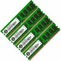 4GB Kit (4 x 1GB) PC2-6400, DDR2-800 Non-ECC Desktop Memory RAM
