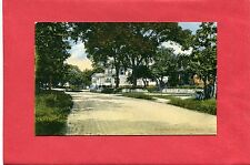 DUXBURY, MA. VINTAGE POSTCARD~NICE COLOR VIEW OF ST. GEORGE STREET