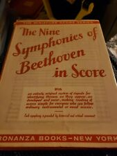 BEETHOVEN THE NINE SYMPHONIES IN SCORE