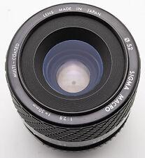 SIGMA MACRO 50mm 50 mm 1:2 .8 2.8 Macro Obiettivo-Pentax PK