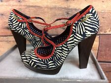 Ruby Shoes Uk 7 Platform Heels Very Good Condition