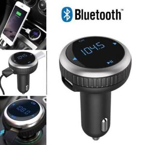 New Wireless Bluetooth Car MP3 Player FM Transmitter Radio LCD SD USB Charger