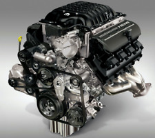 Dodge 6.2L Hellcat Redeye Crate Complete Drop In Engine Assembly New Mopar