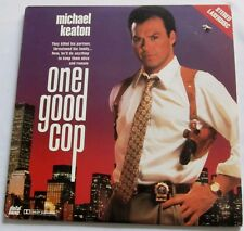 LASERDISC - NTSC - ONE GOOD COP - with Michael Keaton