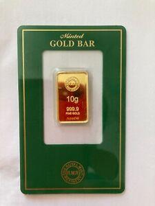 Royal Mint 10g Gold Bar