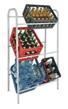 Flaschenkastenständer - Getränkeständer für 6 Kästen in Weiß