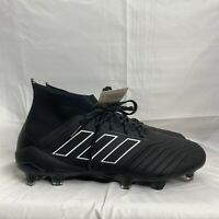 Adidas Predator 18.1 Fg Firm Ground Soccer Cleats Black DB2038 NEW WITH BOX.