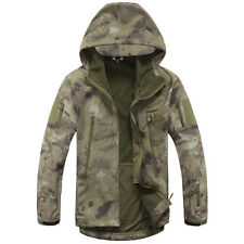 ESDY Men Soft Shell TAD SharkSkin Waterproof Tactical Jacket Hoodie Outdoor Coat