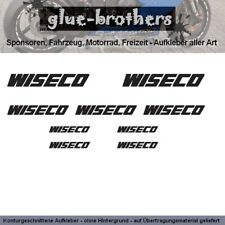 Wiseco Aufkleber Set Farbauswahl Motorteile Sport Racing Tuning Sticker Decal