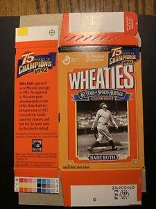 Babe Ruth  Mini Wheaties Box Factory Flat Commemorative Box Unused NY Yankees
