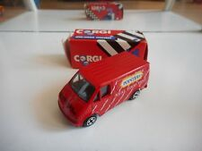 """Corgi Ford Transit """"Pointers"""" in Red in Box"""