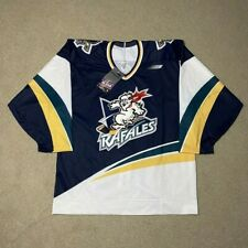 Rare Vintage Quebec Rafales Bauer Pro Hockey Jersey IHL 48 New with Tags 96-98