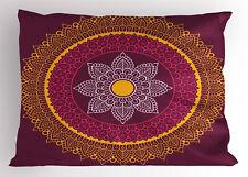 Mandala Love Pillow Sham Decorative Pillowcase 3 Sizes Bedroom Decoration