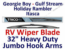 "Wiper Blade Gulf Stream Holiday Rambler Itasca RV Jumbo Hook HD 32"" - 67324"