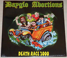 Dayglo Abortions - Death Race 2000 LP / Grey Vinyl / New Sealed (2007) Punk rock