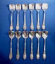 LINSKY 84 STERLING SILVER SET OF 12 ICE CREAM/DESSERT SET