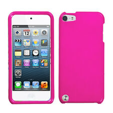 Pink Faceplate Apple ipod Touch 5 5G Protector Hard Plastic Case Snap on Cover