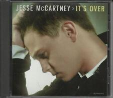 JESSE McCARTNEY It's Over RARE EDIT PROMO DJ CD single USA MINT 2008